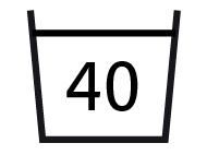 wash temp 40ø C