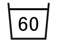 wash temp 60ø C