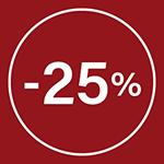 promo 25%
