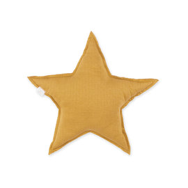 Decorative cushion  30cm STARY Ocher yellow