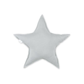 Decorative cushion  30cm STARY Little stars print medium grey