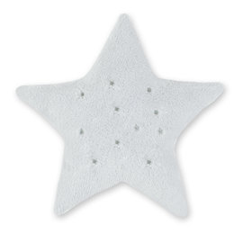 Coussin Softy 30cm STARY Gris clair