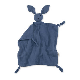 Bunny Swaddle 40x40 cm BUNNY Mineral blue