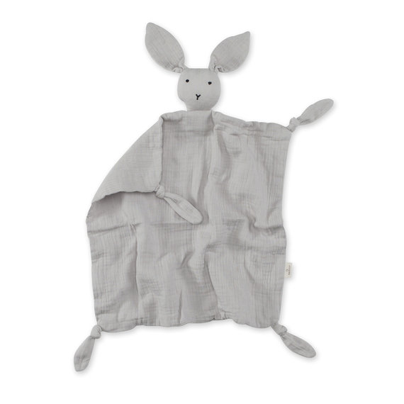 Bunny Cotton muslin 40x40 cm BUNNY Light grey