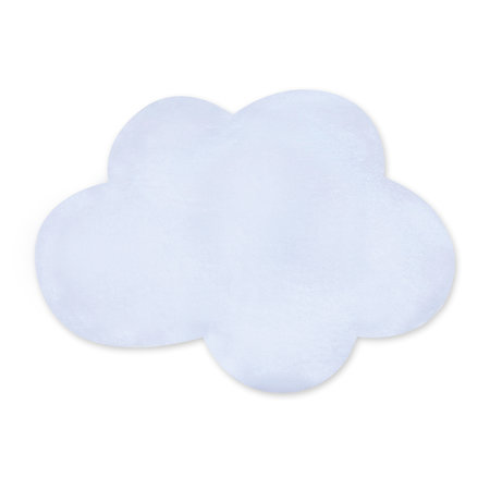 Padded play mat Softy 75x110cm CLOUD Frost