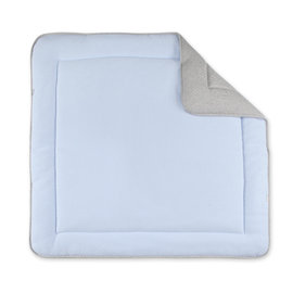 Playpen mat Quilted 100x100cm BEMINI Light blue