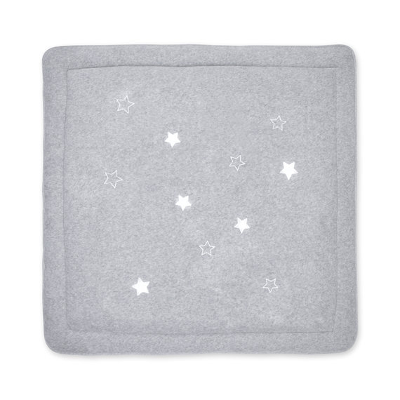 Playpen mat Terry 100x100cm STARY Grey marled