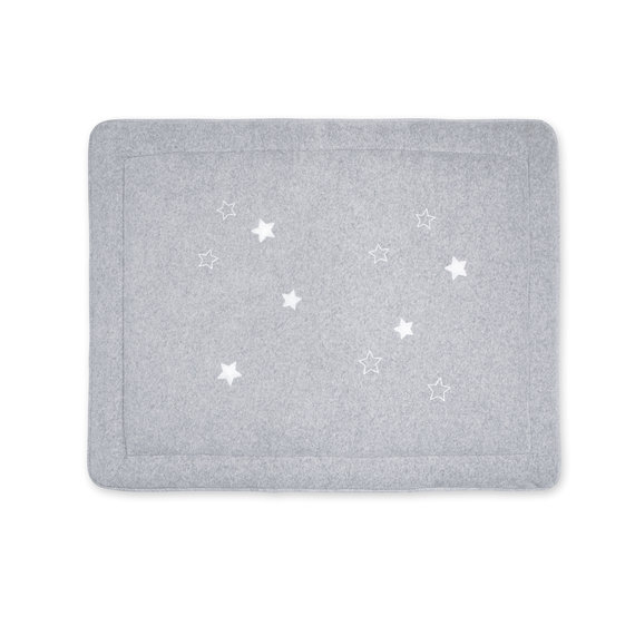 Padded play mat Terry 75x95cm STARY Grey marled