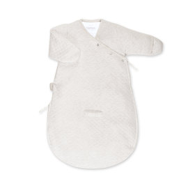 MAGIC BAG Pady quilted jersey 0-3m BEMINI Light beige marled