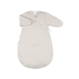 Magic Bag® Pady twin jersey + jersey 0-3m DUNES Stripe ecru natural