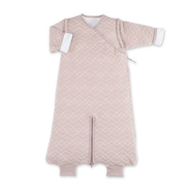 MAGIC BAG Pady quilted jersey 3-9m OSAKA Alte Rose