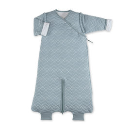 MAGIC BAG Pady quilted jersey 3-9m OSAKA Mineral blue