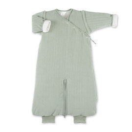 Magic Bag® Pady velvet + jersey 3-9m  Gray green