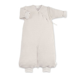 Magic Bag® Pady twin jersey + jersey 3-9m DUNES Stripe ecru natural