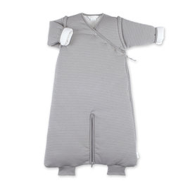 Magic Bag® Pady twin jersey + jersey 3-9m DUNES Stripe grey ecru