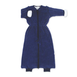 Magic Bag® Pady velvet + jersey 9-24m  marineblauw