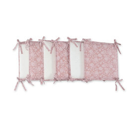 Bed & playpen bumper Pady jersey + jersey 6x30cmx30cm IDYLE Country pattern