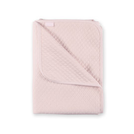 Manta Quilted jersey 75x100cm BEMINI Dulce rosa
