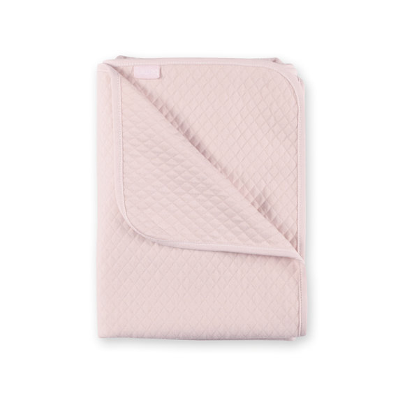 Blanket Quilted jersey 75x100cm BEMINI Sweet pink tog 1.5