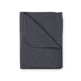 Couverture Quilted jersey 75x100cm BEMINI Gris anthracite chiné