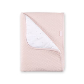 Blanket Pady quilted + jersey 75x100cm BEMINI Sweet pink