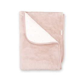 Blanket Pady jersey + softy 75x100cm CHOUX Old pink