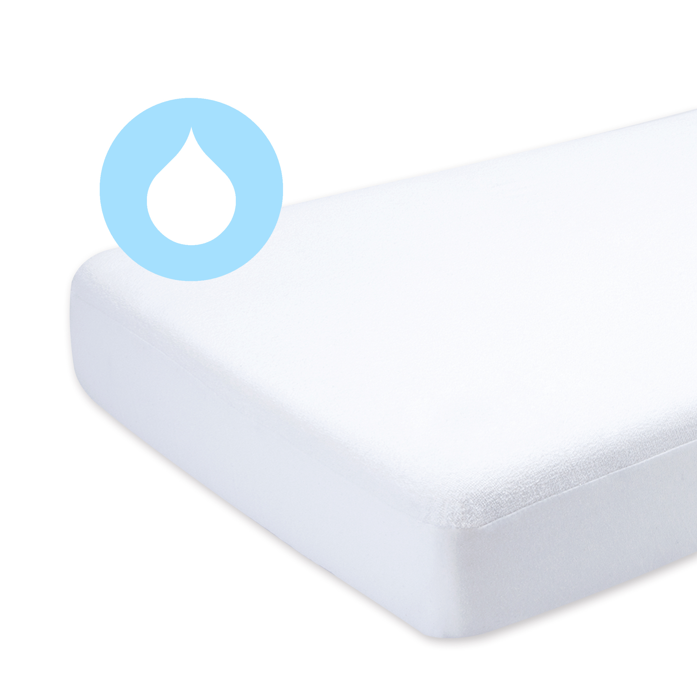 inch mattress compact free product shipping over pad overstock orders la on baby crib
