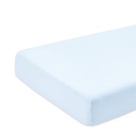 Crib sheet Jersey 40x90cm  Light blue