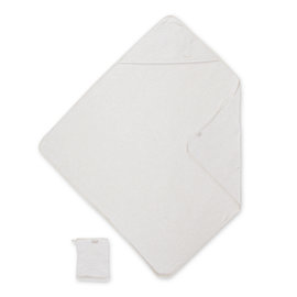 Cape de bain Terry 90x90cm KILTY Beige clair chiné