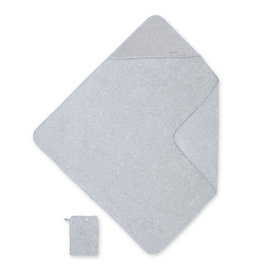Cape de bain Terry 90x90cm KILTY Gris chiné
