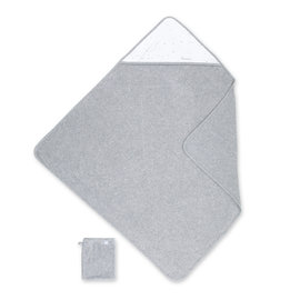 Cape de bain Terry 90x90cm STARB Gris chiné