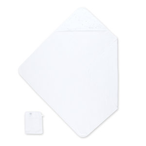 Bath cape Bamboo 90x90cm STARY Snow