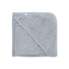 Bath cape Bamboo 90x90cm BEMINI Medium grey