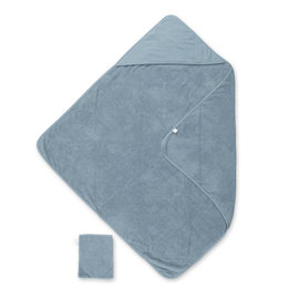 Bath cape Terry 90x90cm CADUM Mineral blue