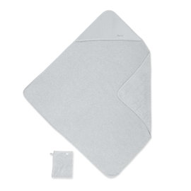 Bath cape Terry 90x90cm CADUM Medium grey