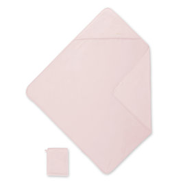Bath cape Bamboo 90x90cm KILTY Sweet pink