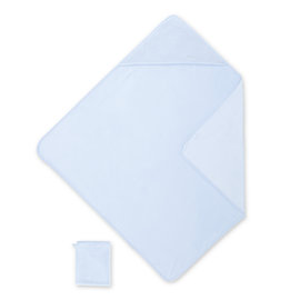 Bath cape Bamboo 90x90cm KILTY Light blue