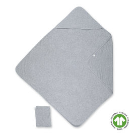 Bath cape Terry 90x90cm WAFLE Grey marled