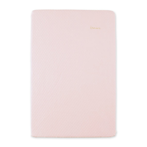 Funda protector cambiador Quilted jersey 60x85cm BEMINI Dulce rosa