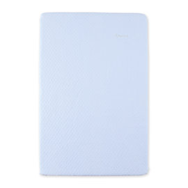 Changing mat cover Quilted 60x85cm BEMINI Light blue