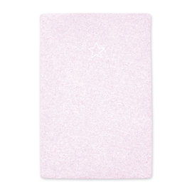 Changing mat cover Terry 60x85cm BEMINI Light pink marled