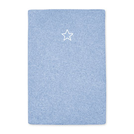 Changing mat cover Terry 60x85cm BEMINI Blue marled