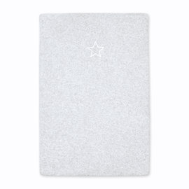 Changing mat cover Terry 60x85cm BEMINI Light grey marled