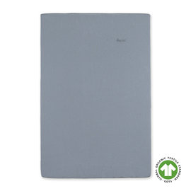 Changing mat cover Waffle organico 60x85cm WAFLE Blue jeans
