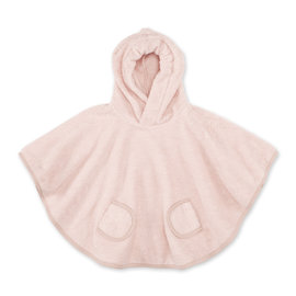 Poncho Terry 9-36m BEMINI Old pink