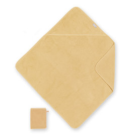Bath cape Terry 75x75cm BEMINI Ocher yellow