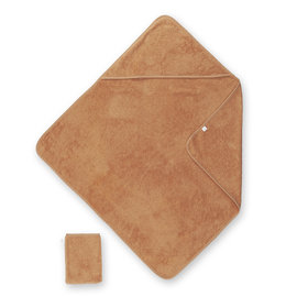 Bath cape Terry 75x75cm BEMINI Caramel