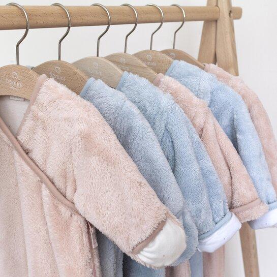 ambiance 490CHOUX44SF Blanket Pady jersey + softy 75x100cm CHOUX Old pink