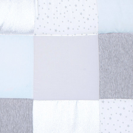 crop matiere 219STARY61CU Padded play mat Cotton 75x95cm STARY Frost