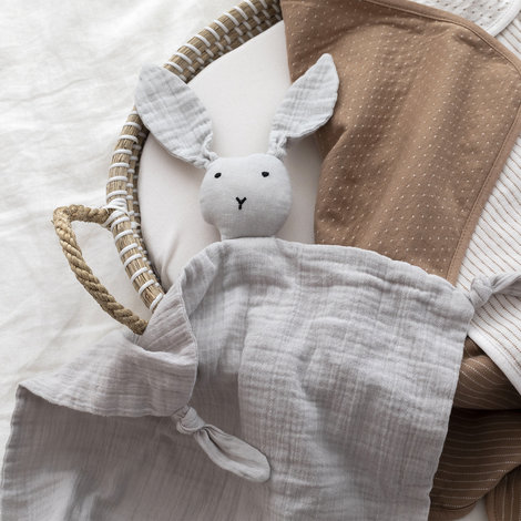 ambiance 008BUNNY86SU Bunny Swaddle 40x40 cm BUNNY Ginger